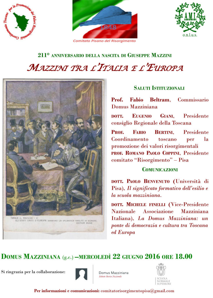 locandina Pisa 22 giugno
